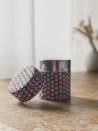 Boite à thé papier squares - rouge - 50G