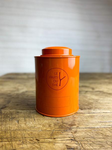 boite orange le parti du thé