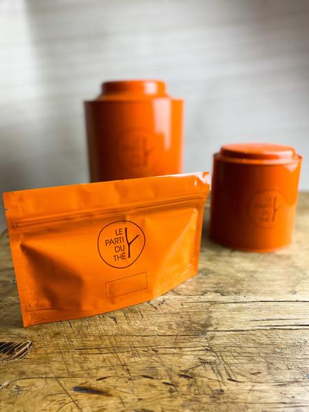 boite sachet le parti du thé