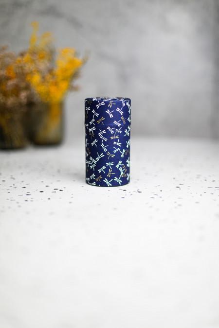 Boîte Washi bleu motif...