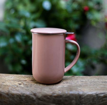 "Mug ""Viva"" rose"