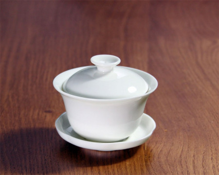 Zhong en Porcelaine Blanche 12cl