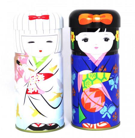 Boîte à thé Geisha bleue - 100g