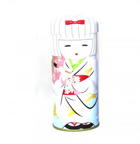 Boîte à thé Geisha blanche- 100g